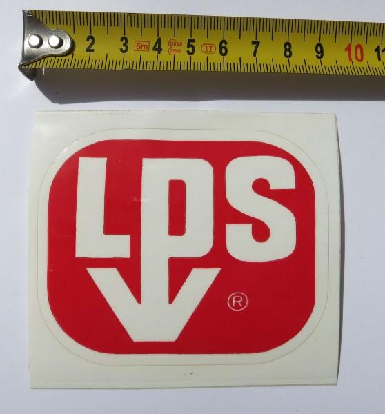Original Aufkleber LPS aus den frühen 70er Jahren