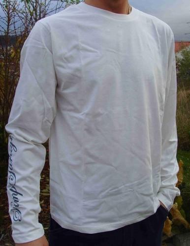 T-Shirt elfenbein mit langen Ärmeln