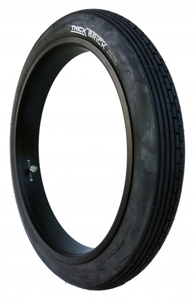 24 x 3.0 Thick Brick Reifen reinschwarz