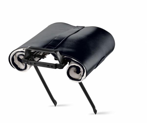 Roll on Gepäckträgertasche schwarz