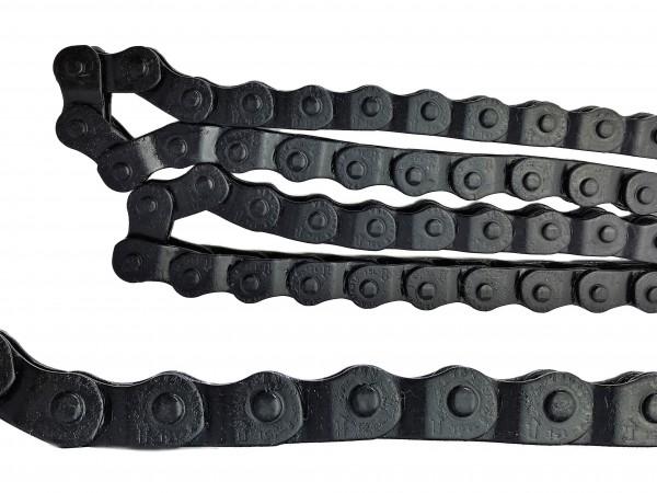 Halflink Kette 1/2 x 1/8, schwarz