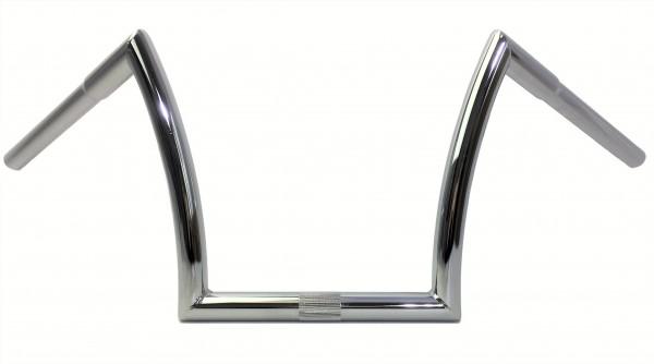Breezer Horn Bar Lenker Medium, Stahl, verchromt