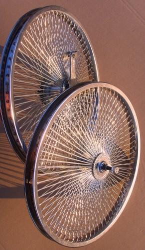 20 Zoll Laufradsatz 140 Speichen, Vorder- und Hinterrad