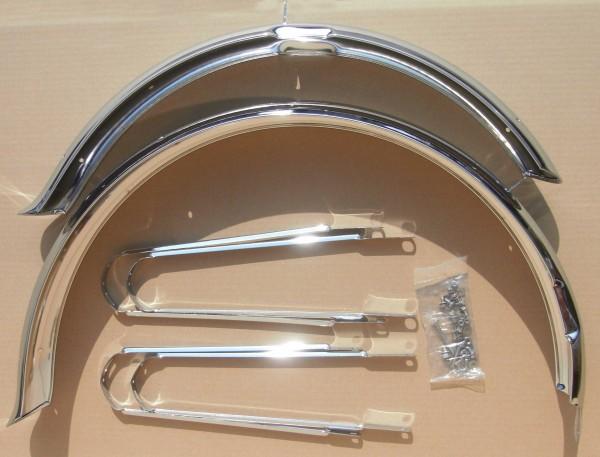 Schutzbleche Streamride Ducktail 26 Zoll 80 mm verchromt