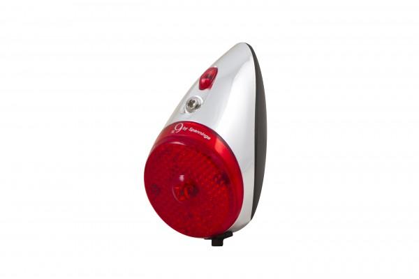 Rückleuchte Nr. 9 Retro LED rot Batterie