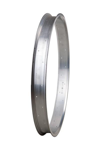 Alufelge 27,5 Zoll 67 mm roh / unlackiert