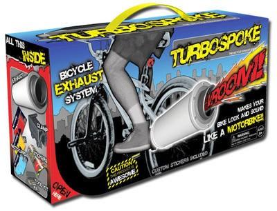 Turbospoke Auspuff