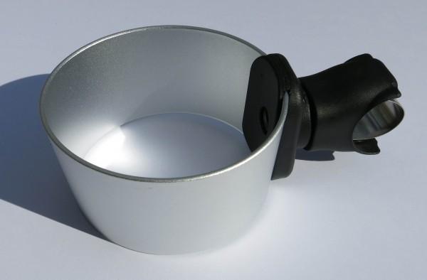 ALU CUP HOLDER Getränkehalter silber