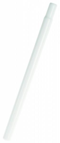 Sattelstütze 1 Zoll weiß 400 mm