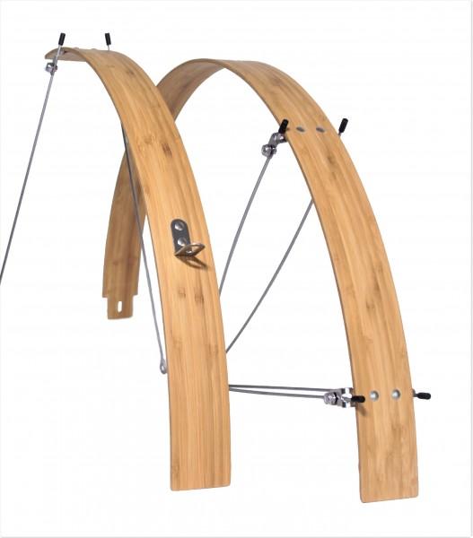 Bambus Schutzbleche 26-28, 50 mm flach