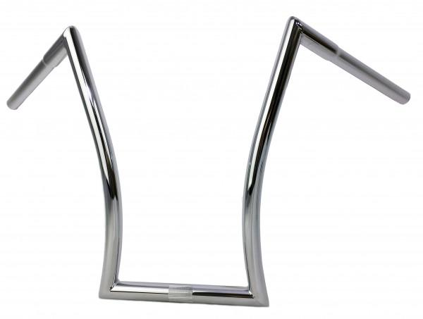 Breezer Horn Bar Lenker Large, Stahl, verchromt