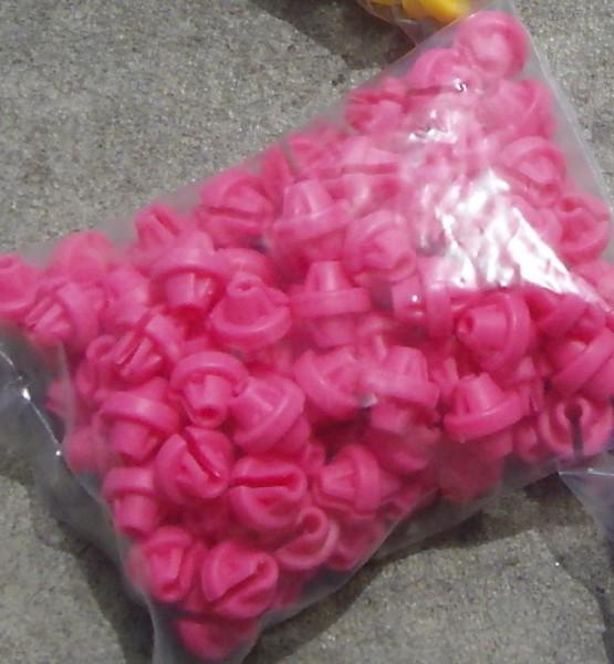 100 Speichenklacker in pink
