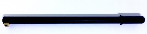 Luftpumpe, Metall schwarz 40 cm