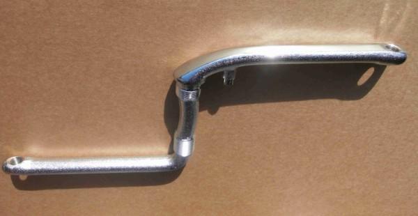 One piece Crank, 175 mm chrom Kurbelgarnitur aus einem Stück