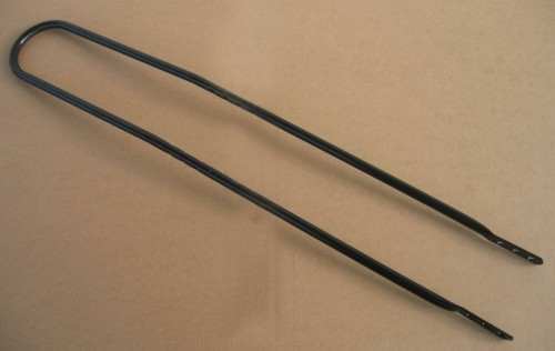Sissybar 95 cm lang SCHWARZ