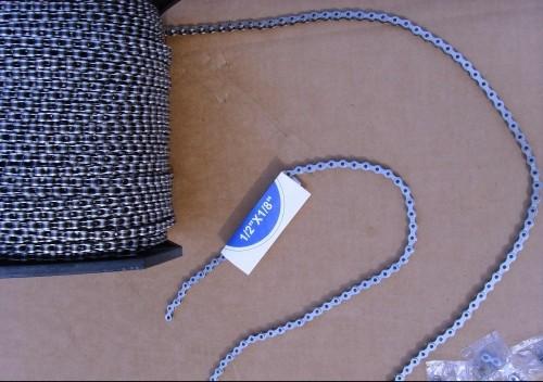 Kette 1/2 x 1/8 Meterware 10 cm