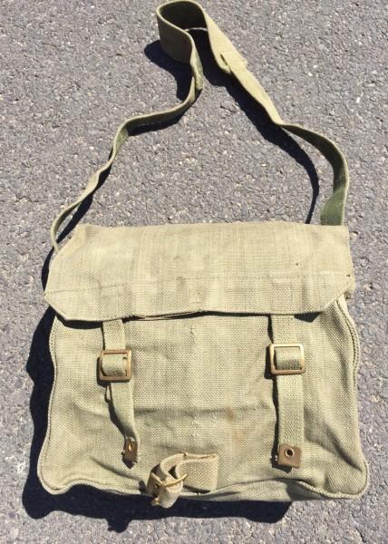 Original Englische Armeetasche olivgrün