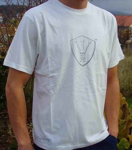 T-Shirt elfenbein